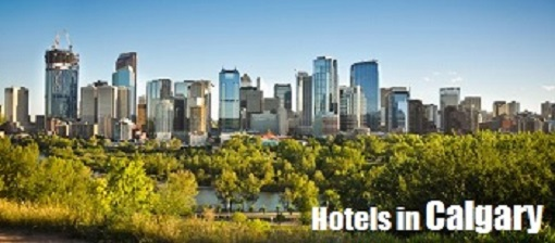 Scenic view of the Calgary skyline
