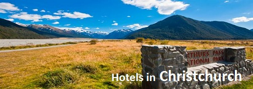 Hotels in Christchurch