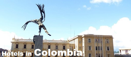 Picture of statue in front of Government buildings