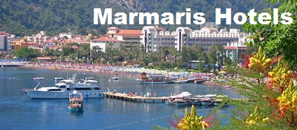 A view of the town of Marmaris