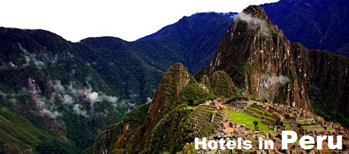 Picture of Machu Picchu an Incan citadel set high in the Andes Mountains of Peru