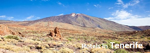 Mount Teide the highest Volcano in Tenerife