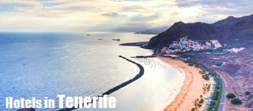 A view of Tenerife from the air